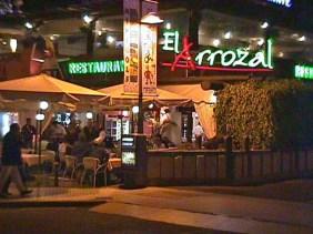 El Arrozal restaurant, Parque Santiago 5.