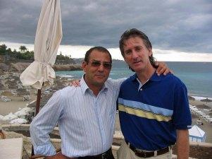 me & Cristobal at LA Torre , January 2004.