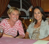 Majella & my wife, Ljiljana.