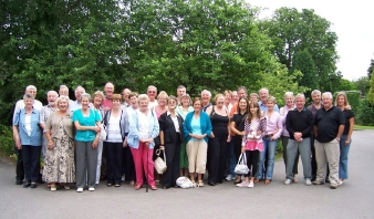 """The morning after pic....the car park at the Park House Hotel , Shifnal....not many of these"""" fans"""" are from anywhere near Shifnal.!! Celebs!"""