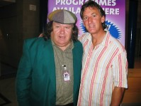 """With the man who wrote the """"Focal Song"""".....cant remember his name , but you cant forget the song!!!!!"""