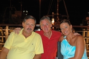 At Hotel Marina, Island Krk, Croatia, with owner Pavol Miskov and Iveta.