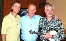 with John Williams and Paul Woodhead at Shifnal Town Hall....