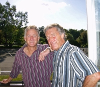 with Bill Mesenburg from Loma Mar, California, at this years´ Summer Party.
