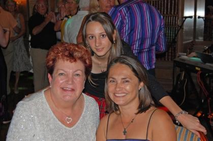 Jackie Campbell with Ljiljana & a very young Katarina..!!