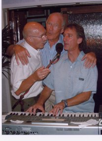 """with Leo and Terry at the """"Arrozal"""""""