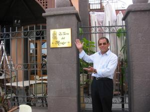 "Cristobal Sides, owner of ""La Torre""."