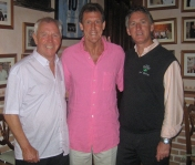 with Ken Winship and ex-footballer Alan Gowling...
