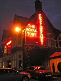 The Royal Toby at Castleton...