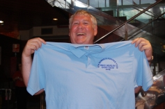 """Top Roadie Mike Healey...with the official """"roadie"""" polo shirt!"""