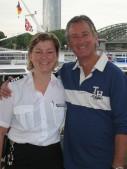 with Captain Eva.