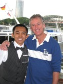 Pandi, Indonesian barman..great guy.