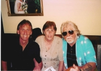A rare photo with Froggie..!!..sent to me by Maureen ..thanks!