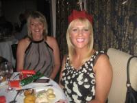 La-La and mum Jennifer at Leyland Golf Club in 2010.